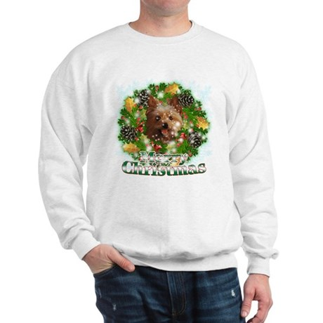 Merry Christmas Yorkie Sweatshirt