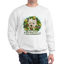 Merry Christmas Westie Sweatshirt