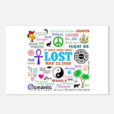 LOST Memories Postcards (Package of 8)