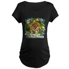 Merry Christmas Pomeranian T-Shirt