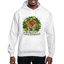 Merry Christmas Pomeranian Hoodie