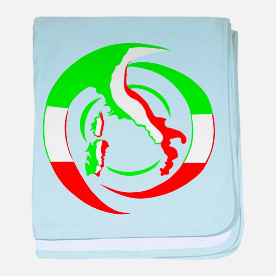 Cool Italian stallion baby blanket