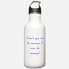 Own The Runway Water Bottle