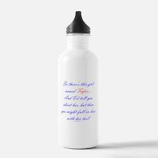 Girl Named Taylor Water Bottle