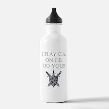 CA on FB Water Bottle