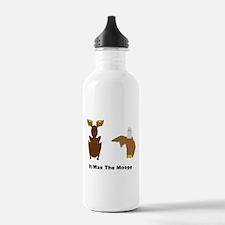 Eagle Blames Moose Water Bottle