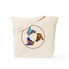 Arowana Swirl Tote Bag