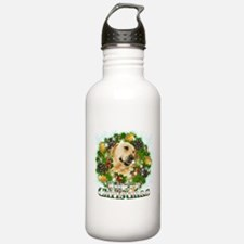 Merry Christmas Lab Water Bottle