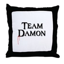 Cute Damon salvatore Throw Pillow