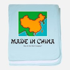 Made in China baby blanket
