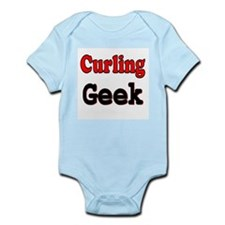 Curling Geek Infant Creeper