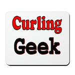 Curling Geek Mousepad