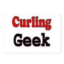 Curling Geek Postcards (Package of 8)