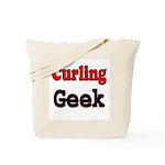 Curling Geek Tote Bag