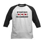 My Heart Beats For A Cardiologist Kids Baseball Je