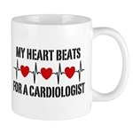 My Heart Beats For A Cardiologist Mug