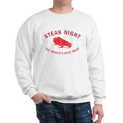 Steak Night Sweatshirt