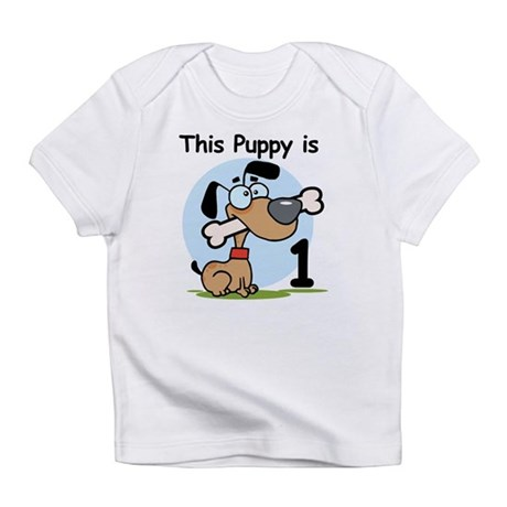 This Puppy is 1 Infant T-Shirt