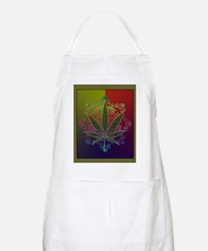 Colorful Weeds Apron