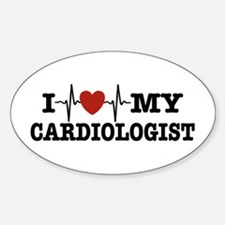 I Love My Cardiologist Decal