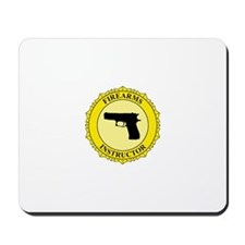 Firearms Instructor Mousepad