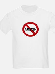 Anti-Austin Kids T-Shirt
