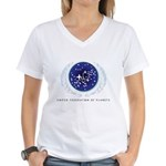 United Federation of Planet Women's V-Neck T-Shirt