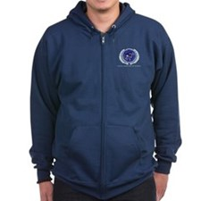 United Federation of Planets Zip Hoody