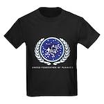 United Federation of Planets Kids Dark T-Shirt
