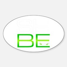 SHBE Oval Decal