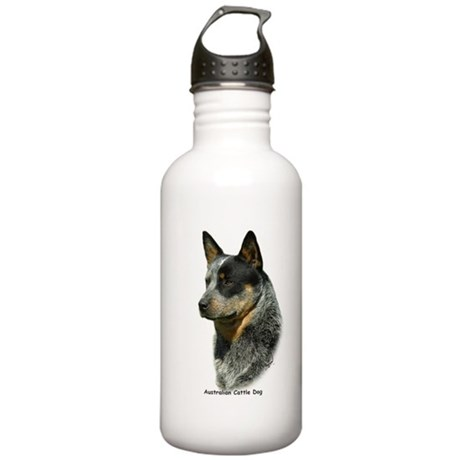 Australian Cattle Dog 9F061D-06 Stainless Water Bo