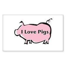 Pig Decal