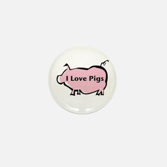 Pig Mini Button