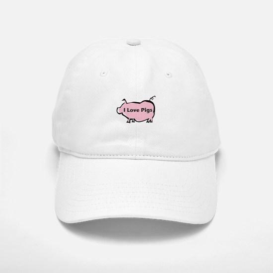 Pig Baseball Baseball Cap