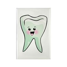 Happy Tooth Rectangle Magnet