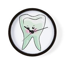 Happy Tooth Wall Clock