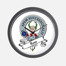 Ross Clan Badge Wall Clock