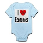 I Love Economics Infant Creeper