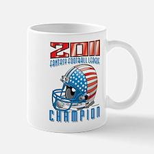 2011 FFL Champion Helmet Mug