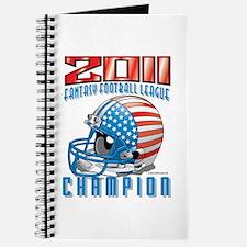 2011 FFL Champion Helmet Journal