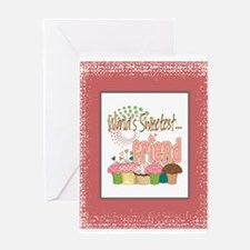 Sweetest Friends Greeting Card