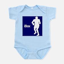 Boxing iBox Silhouette Infant Bodysuit