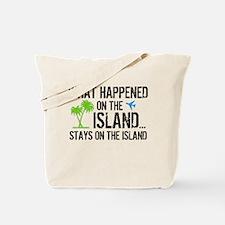 Happened on Island Tote Bag