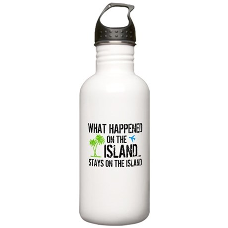 Happened on Island Stainless Water Bottle 1.0L