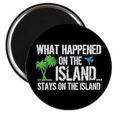 Happened on Island Magnet