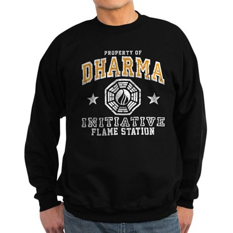 Dharma Flame Station Sweatshirt (dark)