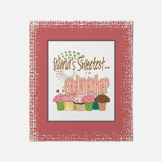 Sweetest Godmother Throw Blanket