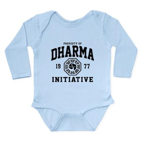 Dharma Initiative Long Sleeve Infant Bodysuit