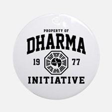 Dharma Initiative Ornament (Round)