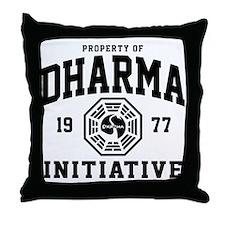 Dharma Initiative Throw Pillow